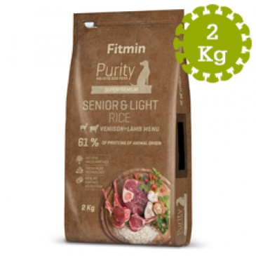 Fitmin dog Purity Rice Sen.&Light Ven.&L 2kg