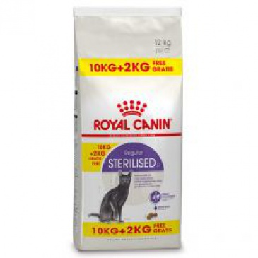 Royal Canin Feline Sterilised 10 + 2kg