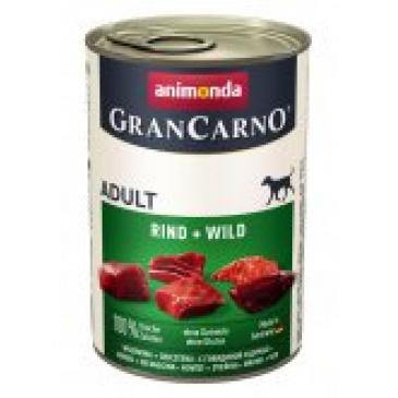 Grancarno konzerva 400g  hovězí, zvěřina