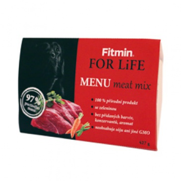Fitmin dog menu meat mix 427g