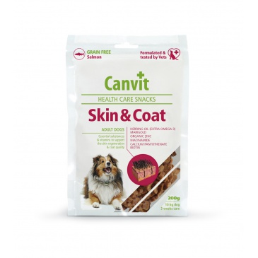 Canvit Snacks Skin&Coat 200g