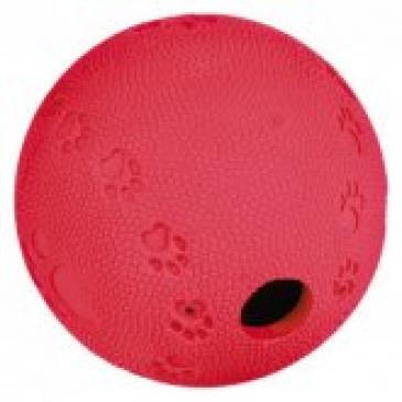 Snacky míč na pamlsky tvrdá guma 7 cm Trixie