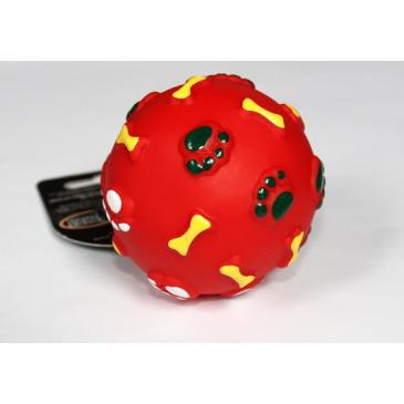 VINYL míček červený 8.5cm