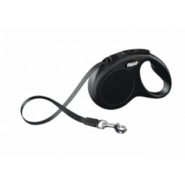 Flexi-Classic Pásek S 5m/15kg černé