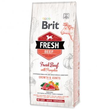 Brit Dog Fresh Beef & Pumpkin Puppy Large 12kg