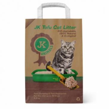 Stelivo JK Tofu cat litter Broskev 2,5kg
