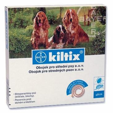 Kiltix antiparazitní obojek 53cm pes