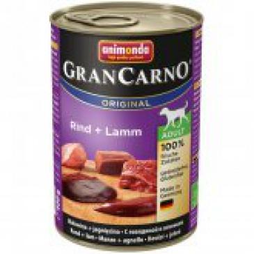Grancarno konzerva 400g hovězí, jehněčí