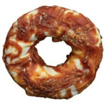 Hanny Food kroužek z bůvolí kůže s kuřecím 1ks