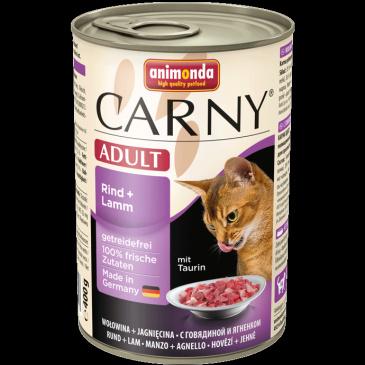 ANIMONDA Carny cat adult hovězí, jehněčí 400g