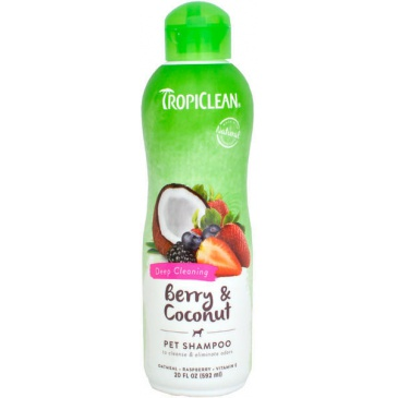 Šampon Tropiclean Deep Cleaning 590ml