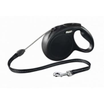 Flexi-Classic Lanko M 8m/20kg černé