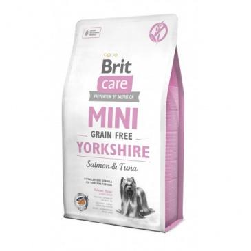 Brit Care Mini 0,4kg Yorkshire grain free salmon+tuna