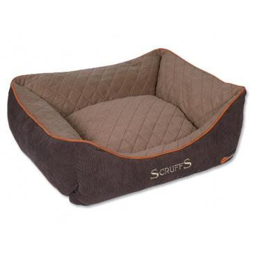 Pelíšek SCRUFFS Thermal Box Bed hnědý M