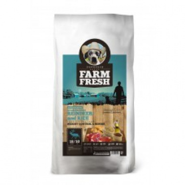 Farm Fresh Scandinavian Reindeer&Rice Senior 15kg