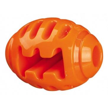 Soft Strong rugby míč TPR termoplastová guma 8 cm oranžový