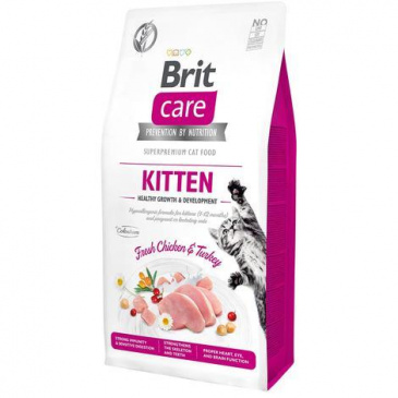 Brit Care Cat Grain Free Kitten 2kg