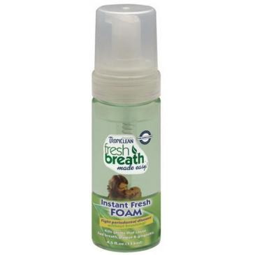 Tropiclean Fresh Mint Foam - pěna pro psy - 133 ml