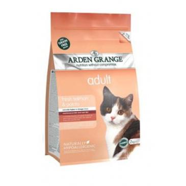 Arden Grange Cat Salmon 2kg
