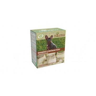 NATURECA - MINI bonbóny z ovčího tuku - mořská řasa 250 g