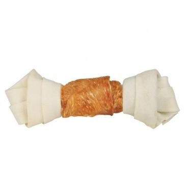 Uzel Denta Fun Bílý s kuřecím masem 2ks 11cm