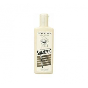 Šampon Gottlieb 300ml Pudl bílý