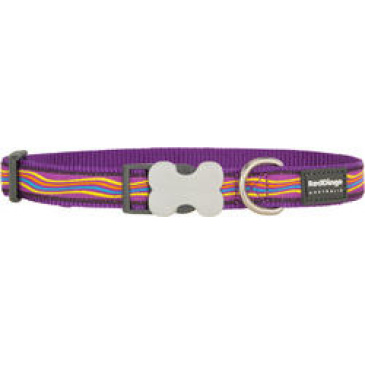 Obojek Red Dingo 25 mm x 41-63 cm - Dreamstream Purple