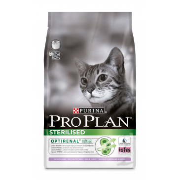 ProPlan Cat Sterilised krůta 3kg
