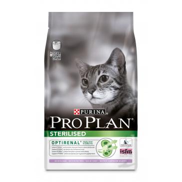 ProPlan Cat Sterilised krůta 3kg