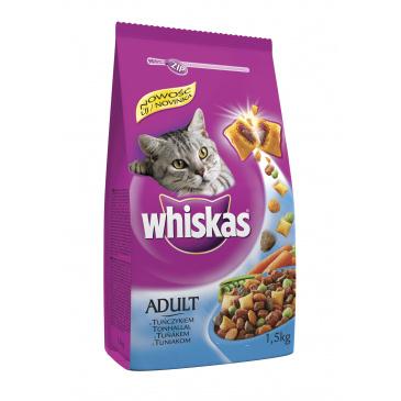 Whiskas granule s tuňákem 1,4kg