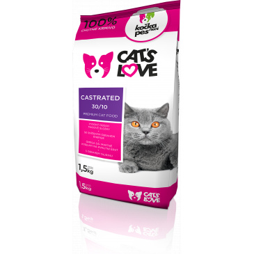 Cat´s love - Castrated 1,5kg
