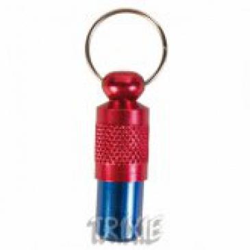 Adresář Trixie -kovový modro-červený