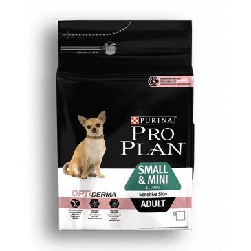 Pro Plan Adult Small&Mini Sensitiv Skin losos 700g