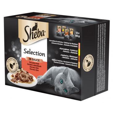 Sheba Slices in Gravy šťavnatý výběr kapsičky 12 x 85 g