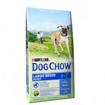Purina Dog Chow Adult Velká plemena Krůta 14kg
