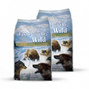 2x Taste of the Wild Pacific Stream 12,2 kg