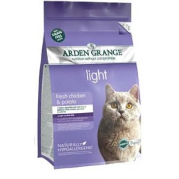 Arden Grange Cat Light fresh chicken-grain free 4kg