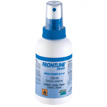 Antiparazitní Spray Frontline 100ml