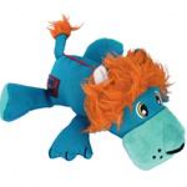Hračka plyš Cozie Lucky Lion M Kong