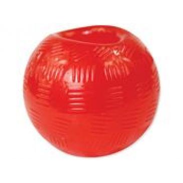 DF Strong míč guma červený 9,5cm