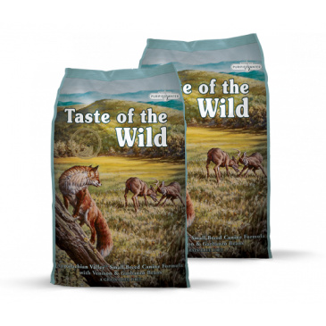 2x Taste of the Wild Appalachian Valley Small Breed 13kg