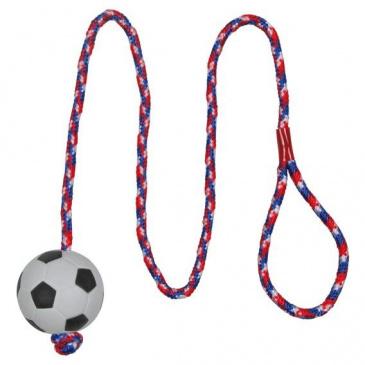 Hračka A míč mech na šňůře 6cm