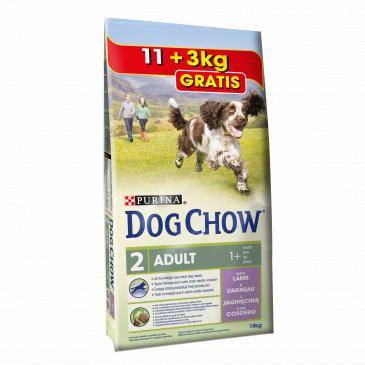 Purina Dog Chow Lamb rice 14kg
