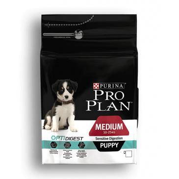 Pro Plan Medium Puppy Sensitiv Digestion 3kg jehněčí